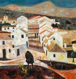Spanish Hill Village, Twilight