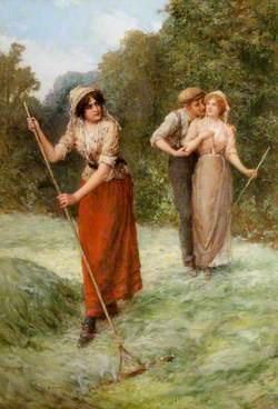 Haymaking Scene
