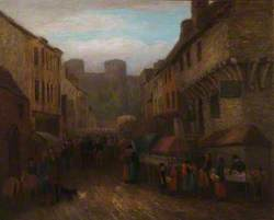 A View of Castle Street, Conwy