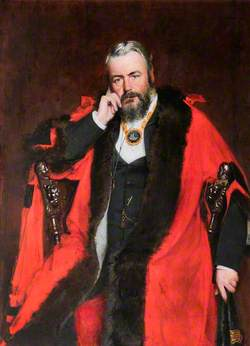 Alderman Alfred Dyson, Mayor of Flint (1885–1886 & 1889)