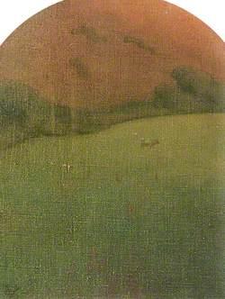 Landscape, towards Aberystwyth from Llanfarian