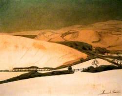 Winter Landscape near Aberystwyth