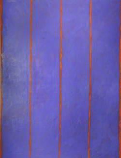 Violet Blue and Orange