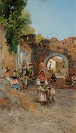 A Scene in Italy