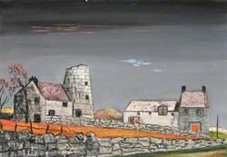 Windmill at Llannerchymedd