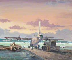 Study for 'Canadian Homecoming' (422 Squadron RCAF)