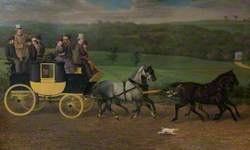 Captain Cecil Otway's Coach and Horses
