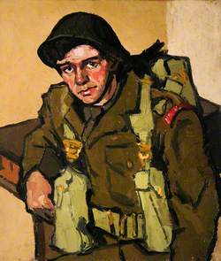 Fusilier Dean (The Depot, Wrexham 1948)