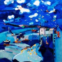 Tenby Harbour, 1989