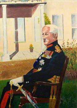 Lieutenant-General Sir Cyril Coleman (1903–1974), KCB, CMG, DSO, OBE, Colonel of The Welch Regiment (1958–1965)