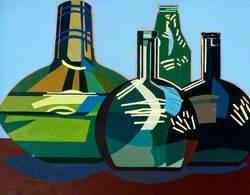 Still Life, Green Vessels*