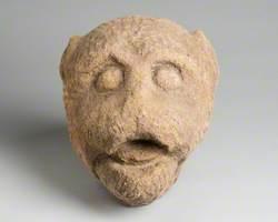 Stone Head of a Bear