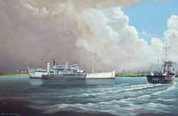 HMS 'Corbrae', BYMS Depot Ship
