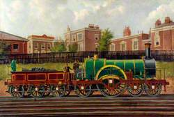 Great Western Railway 4–2–2 Locomotive 'Lord of the Isles'