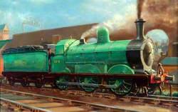 Great Northern Railway 0–6–0 Goods Locomotive No. 324