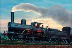 London and North Western Railway 2–4–0 Locomotive No. 764 'Shap'