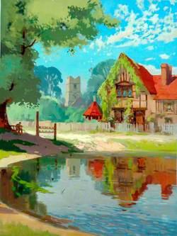 Hertfordshire, Aldbury Village