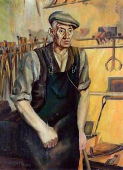 'George' the Blacksmith, Dairycoates Engine Shed, Hull