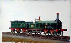 South Eastern Railway 4–2–0 Locomotive No. 137