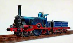 Caledonian Railway 2–2–2 Locomotive C75R