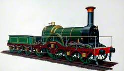 Great Western Railway 4–2–2 Locomotive 'Iron Duke'