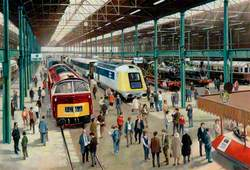 View of Proposed 'GWR 150' Exhibition at Swindon