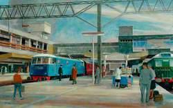 London Midland Electrification, Stafford Station