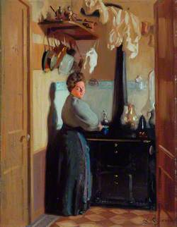 Woman in a Kitchen