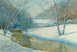 Forge Valley, Cottages in Winter