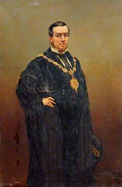 John Hart in Mayoral Robes