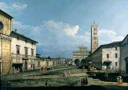 The Piazza San Martino, Lucca