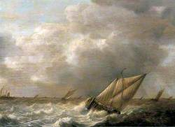 Seascape with Galliots