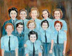 Women's Auxiliary Air Force Drivers of 58 and 502 Squadrons, St David's, 1944