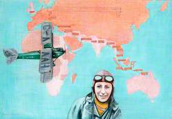 Amy Johnson's Flight to Australia in DH Moth G-AAAH