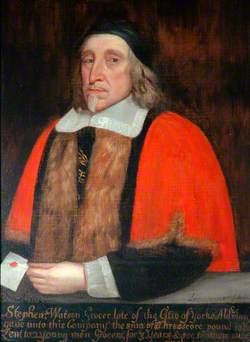 Stephen Watson (d.1659), Grocer and Alderman, Warden (1629–1631)