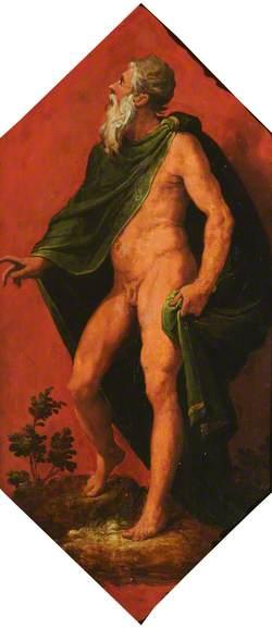 A Bearded God (Jupiter?)