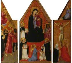 Triptych, the Virgin and Child with Four Saints