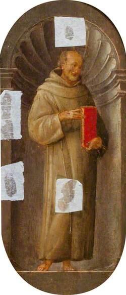 Saint Francis Holding a Book