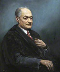Professor Sir Cyril Hinshelwood (1897–1967), Nobel Laureate
