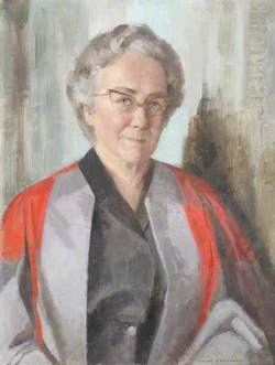 Dame Helen Gardner, Merton Professor of English Literature (1966–1975)