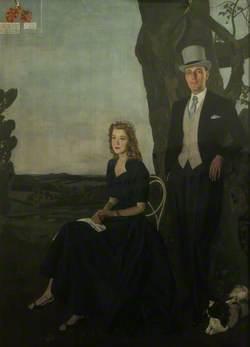 Francis Edward Lascelles-Hadwin (b.1926), Demy (1947–1950), and Lady Julia Lascelles-Hadwin, née Bluet-Mackenzie (b.1934)