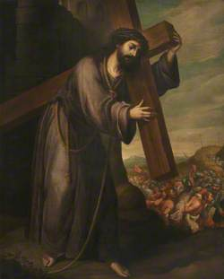 Christ Carrying the Cross on His Way to Calvary