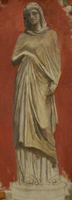 Study of a Statue