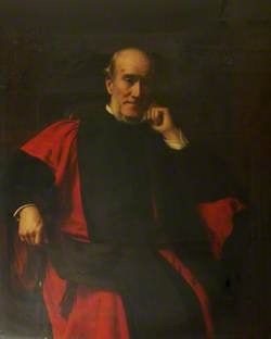 The Reverend D. P. Chase, DD, Principal of St Mary Hall, Oxford