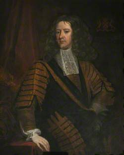 Edward Hyde (1600–1674), Earl of Clarendon, Wearing the Robes of the Office of Lord Chancellor