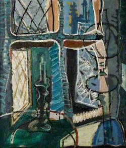 Crambe Vicarage : Night : 1949