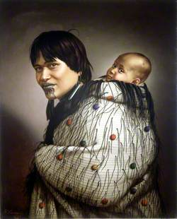 Ana Rupene and Her Daughter