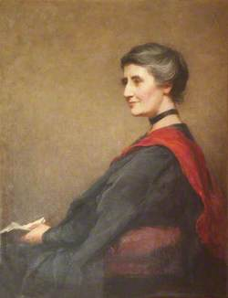 Christine Burrows, Principal (1910–1919)