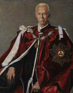 John Primatt Redcliffe Redcliffe-Maud (1906–1982), Baron Redcliffe-Maud, KGB, Fellow and Dean, Master (1963–1976), Wearing the Robes of the Order of the Bath