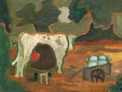 Woman Milking